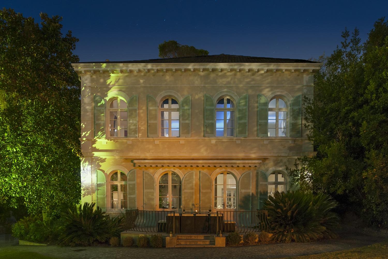 La Villa du Chateau de nuit